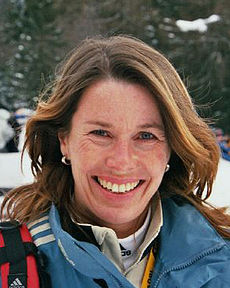 Magdalena Forsberg in Antholz