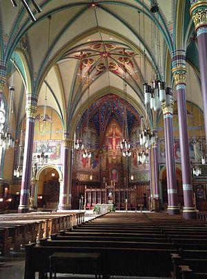 Cathedral of the Madeleine (Salt Lake City, Utah) - Image: Magdeline