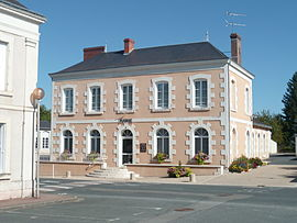 The town hall in Vicq-Sur-Nahon