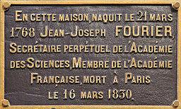 Maison natale de Fourier, Auxerre