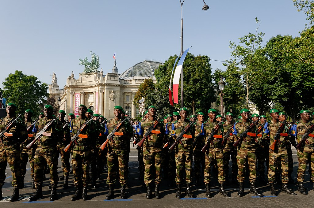 Malian troops Bastille Day 2013 Paris t090930.jpg