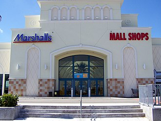 The Mall at 163rd Street - The mall's east entrance