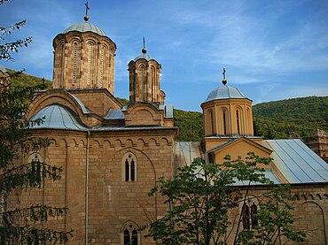 Manasija monastery - south