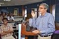 Manebendra Bhattacharyya Delivering Lecture - Quality Sportsperson - SPORTSMEDCON 2019 - SSKM Hospital - Kolkata 2019-03-17 0107.JPG