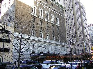 Manhattan Center building in Manhattan, NYC, USA