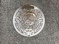 Manhole cover of Ube, Yamaguchi.jpg