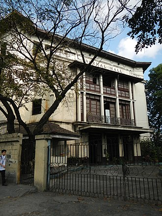 Philippine Normal University - Normal Hall, the main student dormitory of PNU.