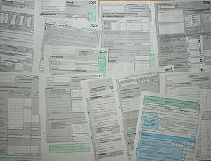 Form (document) - A variety of forms.