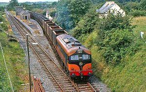 Manulla Junction railway station - Manulla Junction in 1985