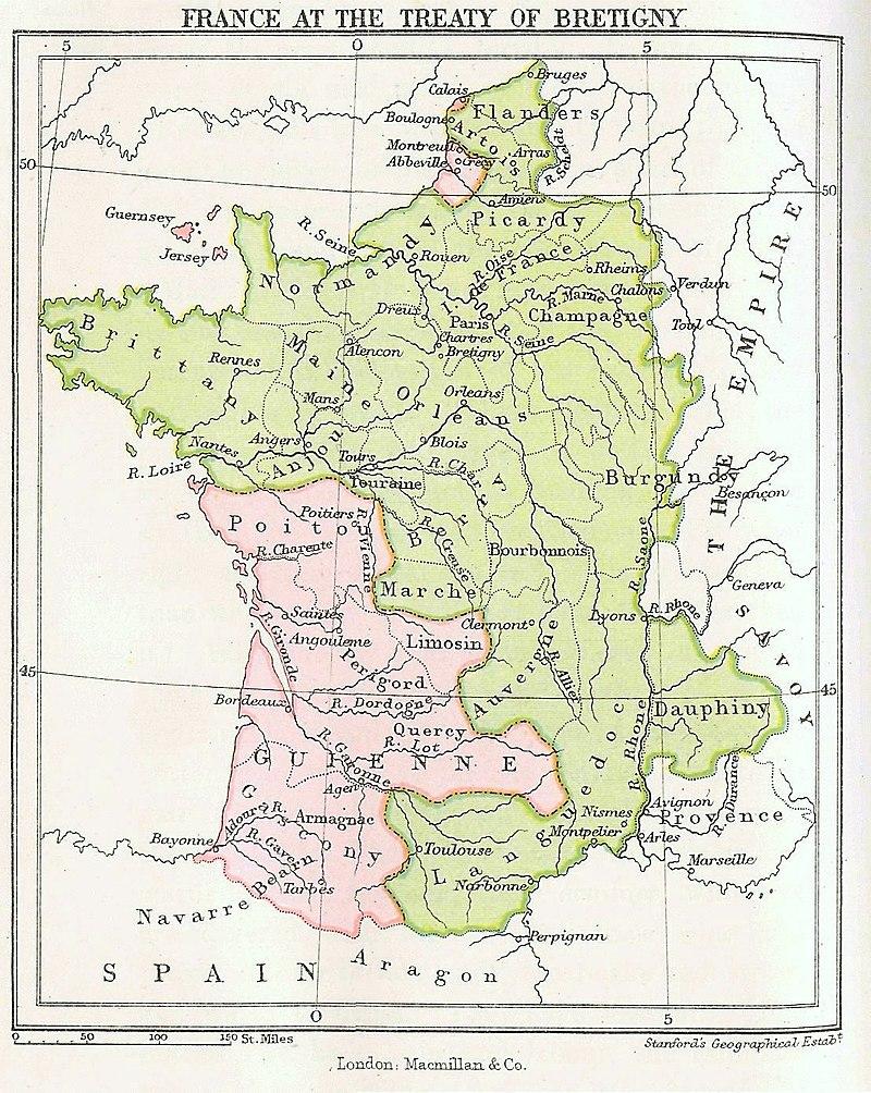 Regioni Gran Bretagna Cartina