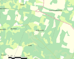 Map commune FR insee code 40008.png