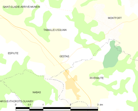 Map commune FR insee code 64242.png