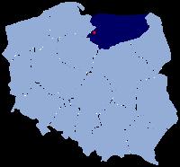 Map of Kamieniec.SVG