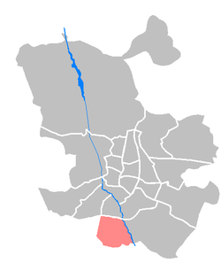 Location of Villaverde