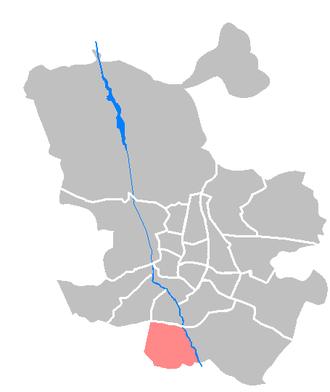 Villaverde (Madrid) - Image: Maps ES Madrid Villaverde