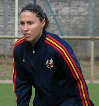 Mari Paz Vilas - Training for the national team in 2012