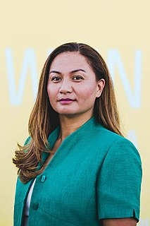 Marama Davidson New Zealand politician