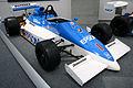 March 86J 1986 (Satoru Nakajima) front-right Honda Collection Hall.jpg