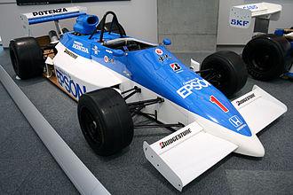 Super Formula Championship - March 86J of Satoru Nakajima, the 1986 championship winner.
