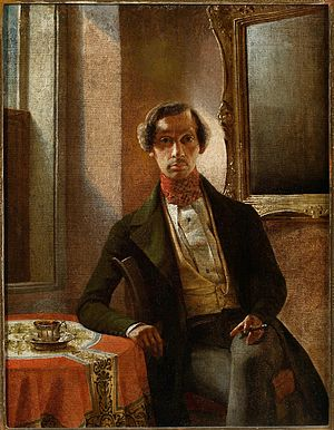 Marcin Zaleski - Marcin Zaleski, Self-Portrait, 1840
