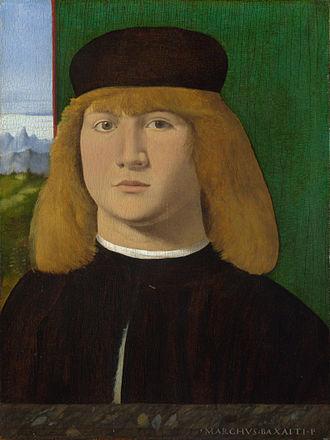 Marco Basaiti - Portrait of a Young Man, Marco Basaiti, 1495