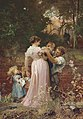 Marcus Stone - Widow looking at a young family.jpg