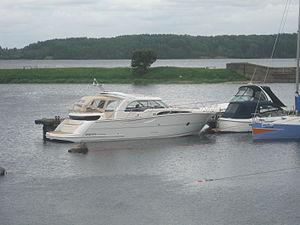 Marex 370 aft cabin cruiser in Lithuania.JPG