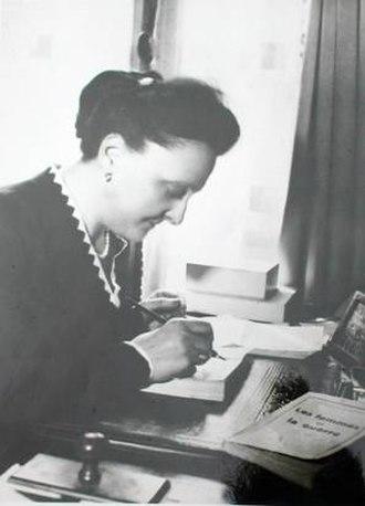 Marguerite Lebrun - Marguerite Lebrun in February 1940.