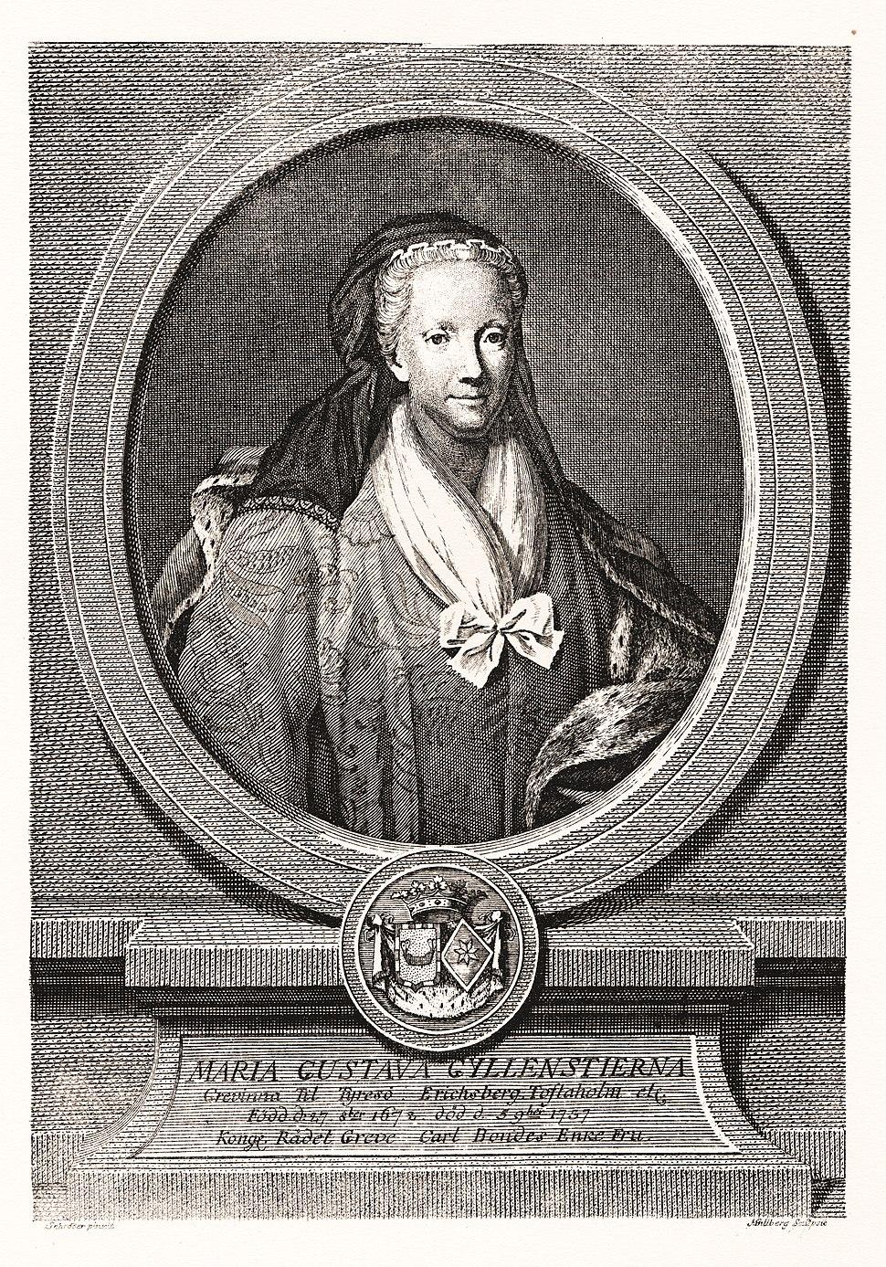 Maria Gustava Gyllenstierna SP156