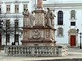 Maria column (1691), Széchenyi Square, Győr 01-2009 - panoramio - adirricor (3).jpg