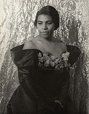 January 7: Marian Anderson at the Met Marian Anderson.jpg