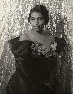 Marian Anderson African-American contralto