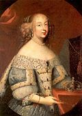 Marie Jeanne of Savoy as the Duchess of Savoy by an unknown artist (half length).jpg