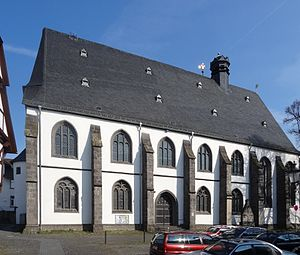 Marienstiftskirche, Lich - South side of the Marienstiftskirche