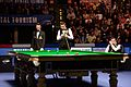 Mark Selby, Shaun Murphy and Marcel Eckardt at Snooker German Masters (DerHexer) 2015-02-08 02.jpg