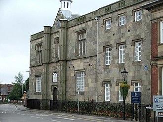 Dixie Grammar School - Image: Market Bosworth Dixie Grammar School geograph.org.uk 234889