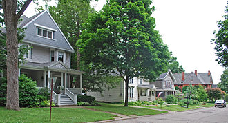 Marshall, Michigan - Image: Marshall MI Houses