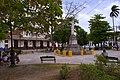 Marta Abreu train station across Martyrs Park in Santa Clara, Cuba - 2010.JPG