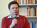 Martin Hanske SPD-Ratsfraktion Hannover spricht anläßlich der Eröffnung des Andersraum.JPG