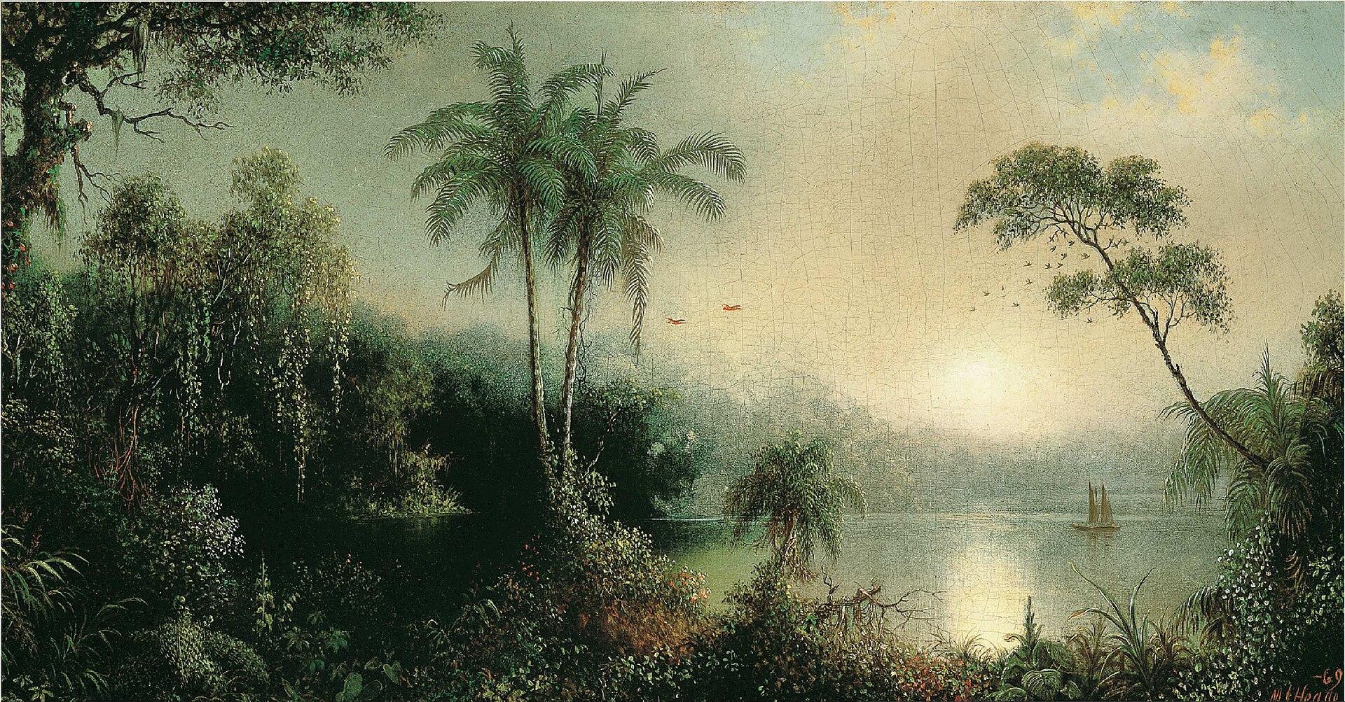 Мартин Джонсон Хид - Восход солнца в Nicaragua.jpg