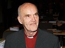 Martin Lönnebo på den norske kirkes kirkemøde 2007.   Foto:   kirkens informasjonstjeneste