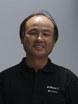 Masayoshi Son (孫正義) on July 11, 2008.jpg