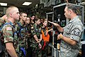 Master Sgt. Dan Bryant explains components to Ohio CAP cadets.JPG