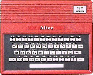 TRS-80 MC-10 - The Matra Alice, a derivative of the original MC-10