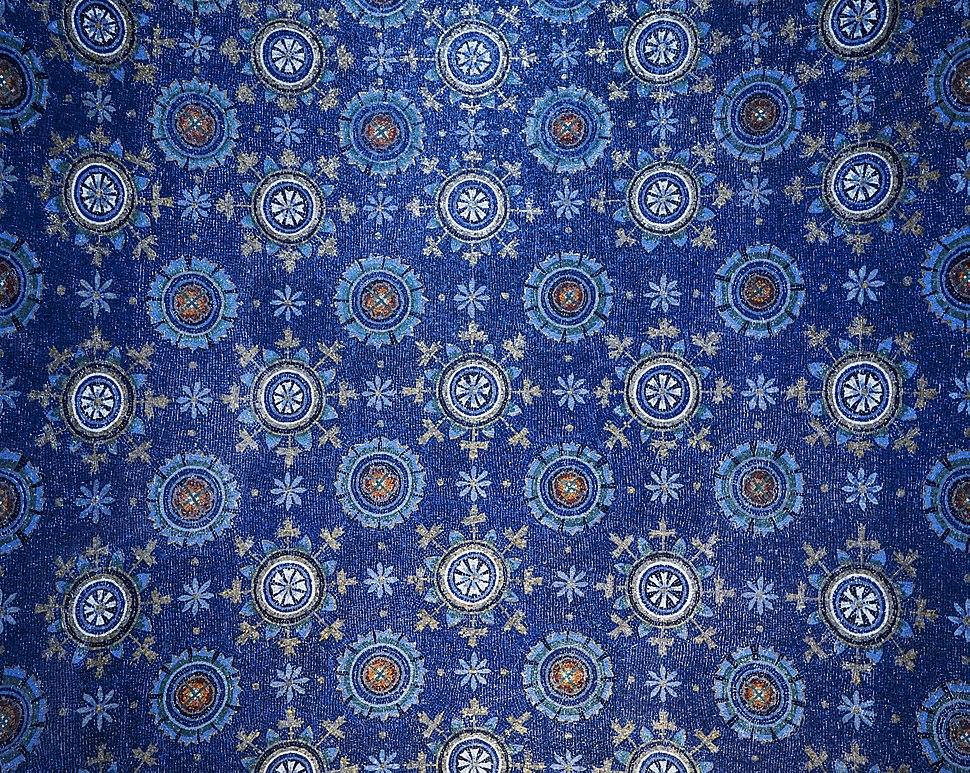 Mausoleum of Galla Placidia ceiling mosaics
