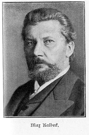 Max Kalbeck - Max Kalbeck.