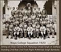 Mayo College, Ajmer Squadron 1920.jpg