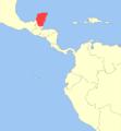 Mazama pandora distribution.png