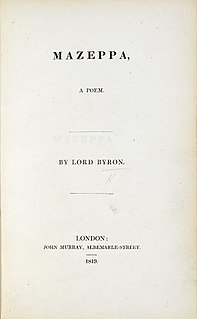 Fragment of a Novel unfinished novel written by Lord Byron