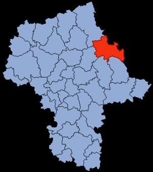 Ostrów Mazowiecka County - Image: Mazowsze Ostrowski Mazowiecki